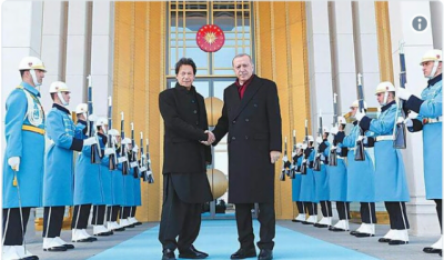 Turkish President Tayyip Erdogan telephones PM Imran Khan