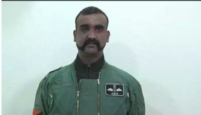 (VIDEO): IAF Pilot Abhinandan latest video before leaving Pakistan, blows Indian media for war hysteria