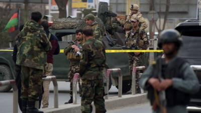 25 Afghan soldiers killed in attack on military base in Helmand