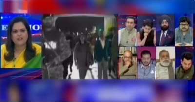 Indian analyst faces backlash at Indian TV for refusing to validate IAF strike in Pakistan