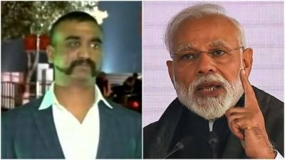 Indian PM Narendra Modi responds after arrival of IAF Pilot back to India