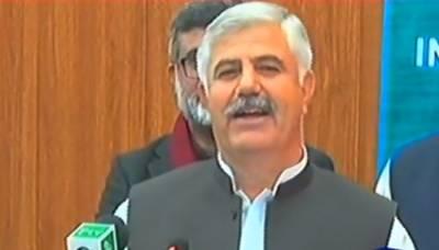 CM KP inaugurates 120 beds Burn & Trauma center in Peshawar