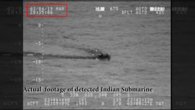 Pakistan Navy locked high tech Indian submarine but did not fire so as not to escalate tensions