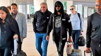 Top International footballer Nicolas Anelka arrives in Pakistan, reveals special link with Pakistan