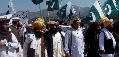 Rally held in South Waziristan condemning India for creating tension along LoC