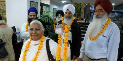 Sikh Yatrees delegation from across the world arrives in Pakistan