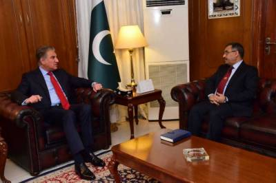 FM underlines need for direct contact b/w Pakistan and India to reduce tensions