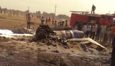 IAF Fighter Jet crashes in Rajasthan, India