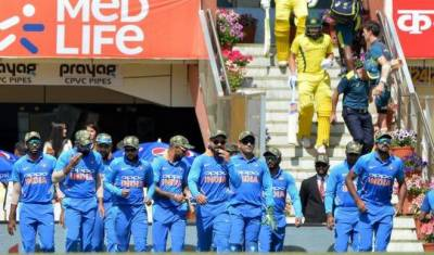 Indian cricket team violates ICC code of conduct?