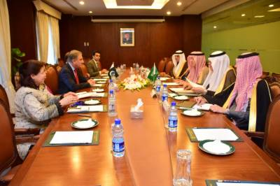 Saudi FM assures full cooperation to settle issues b/w Pakistan & India