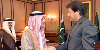 Saudi FM meets Pakistani civil and military leadership, lauds Islamabad's peace overtures to normalize current situation