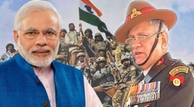 In desperation, Modi's BJP using Indian Army Chief photos to run election propaganda campaign