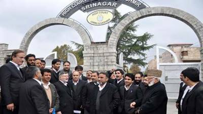 Indian NIA humiliating, intimidating Kashmiri leadership: HCBA