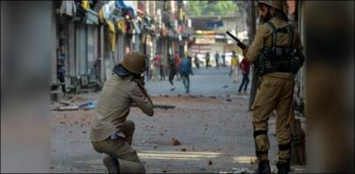 Indian troops in an act of state terrorism martyred three Kashmiri youth in fake encounter