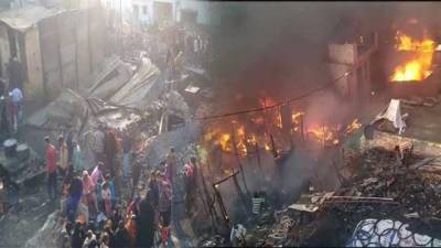 Modi's extremism: 200 Muslim homes in India razed, set on fire by Hindu extremists