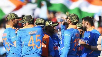 PCB takes a strong exception to Indian Cricket team war mongering act during cricket match against Australia