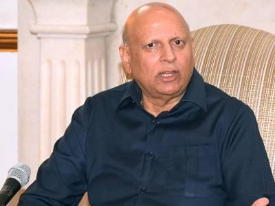 Pervez Khattak, Naeem ul Haq call on Sarwar