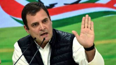 Rahul Gandhi accuses Modi of trying to befool masses in name of corruption