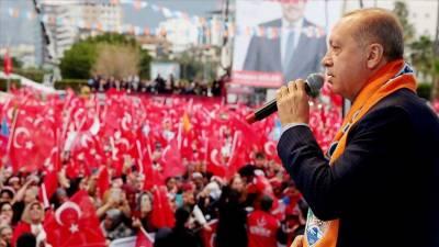 Turkey to clear southern border of terrorists: Erdogan