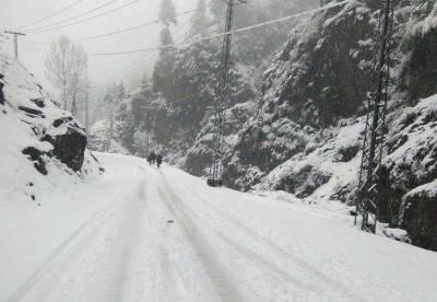 Galiyat receives 1.5 feet snow during last 24 hours