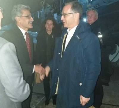 German Foreign Minister arrives in Islamabad