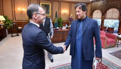German Foreign Minister met PM Imran Khan