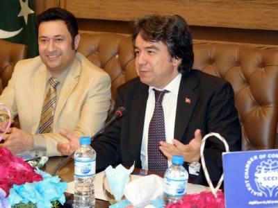 Turkish envoy visits SCCI