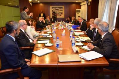 Pakistan FM Shah Mehmood Qureshi holds an important consultative meeting in Foreign Office