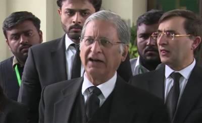 PPP Senator Aitzaz Ahsan has an advice for PPP against Nawaz Sharif