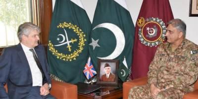 UK Defence Secretary lauds Pakistan's positive role for regional peace, stability