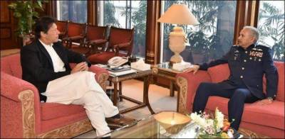 PAF Chief holds important meeting with PM Imran Khan