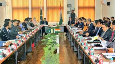 Pakistan India Kartarpur talks underway at Attari