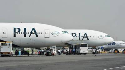 PIA plane damaged after crashing into jetty at Toronto Airport