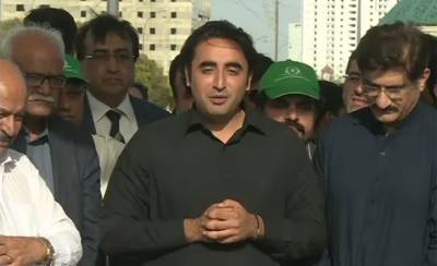 Three PTI Ministers have links with militant outfits, alleges Bilawal Bhutto Zardari