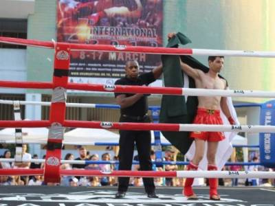 Pakistan police commando knocked down Indian rival in two minutes at international Martial Art Games