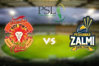 PSL 2nd Eliminator match: Islamabad United to face Peshawar Zalmi today