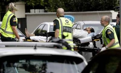 Six killed as gunman opens fire at mosque in New Zealand