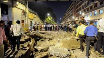 Six killed in India footbridge collapse
