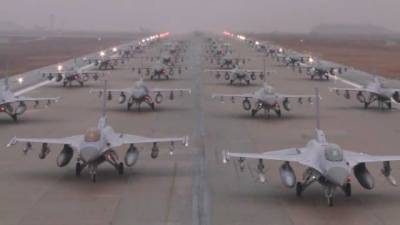 Is this Video of Fighter Jets at a Pakistani Air Base?