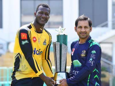 PSL Trophy unveiling ceremony held at National Stadium Karachi
