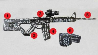 Stunning revelations surface from the NZ attacker gun markings