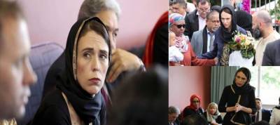 PM Ardern visited Wellington's Mosque to express solidarity with muslims