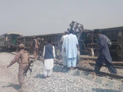 4 killed in bomb attack on Jaffar Express in Dera Murad Jamali