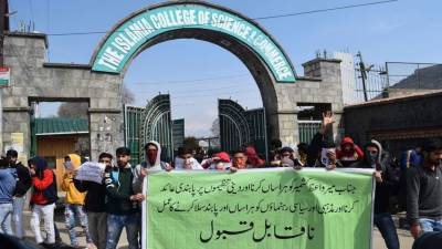 Berlin rally calls for peaceful Kashmir resolution