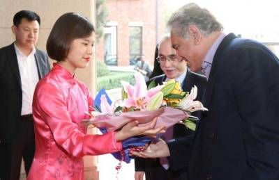 FM in Beijing to attend Pak-China FMs' Strategic Dialogue