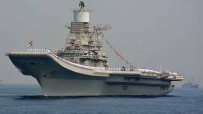 Indian Navy nuclear submarines, Aircraft carrier had deployed in North Arabian Sea near Pakistan Maritime borders