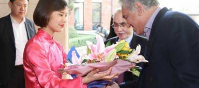 Pakistan FM Shah Mehmood Qureshi arrives in China on three day long visit