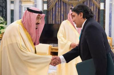 Pakistan's new envoy to Saudi Arabia called on King Salman, important messages exchanged