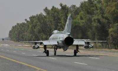 (VIDEO): PAF Fighter Jets land at multiple Motorways to demonstrate war air operational capability
