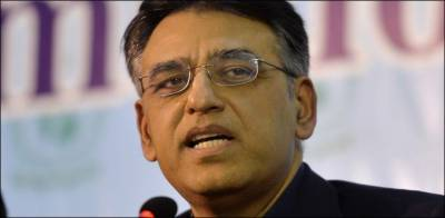 Finance Minister Asad Umar responds over allegations of links with banned outfits